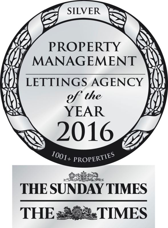 Property Management Letting Agency of the Year 2016 - Silver Award